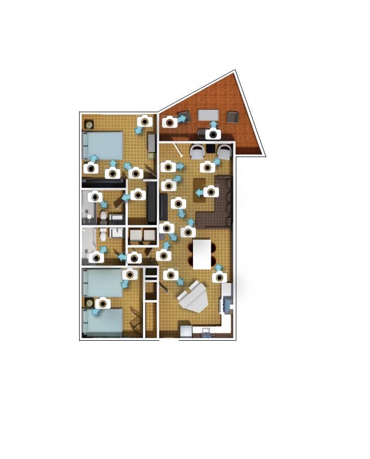 Villa Cuqui - 2D Floorplan